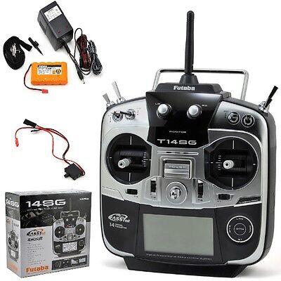 Futaba FUTK9411 14SGH 14Ch 2.4GHz Heli QuadCopter Radio / Transmitter ONLY 14SG