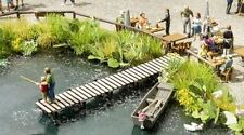 NOCH HO SCALE 1/87 SMALL FISHING PIER KIT   BN   SHIPS FROM USA   14223