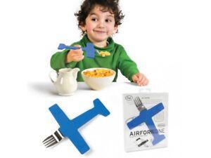 """Kindergeschirr & -besteck Ernährung Intelligent Kindergabel """"airfork One"""" Flugzeuggabel Besteck Gabel Flieger Tolles Geschenk"""