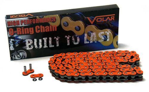 2007-2008 Suzuki GSXR 1000 O-Ring Chain Orange