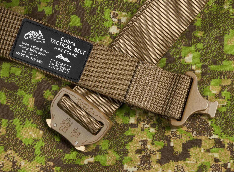 HELIKON TEX COBRA BUCKLE TACTICAL BELT FC45 Outdoor Belt Hosen Gürtel coyote 120