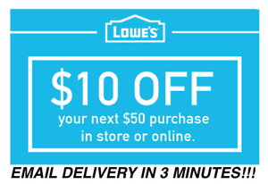 Five-5x-Lowes-10-OFF-50-InStore-and-Online-5Coupons-Fast-Delivery-EXP-7-19