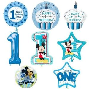 R23f6 Xl Disney Micky Helium Folienballon Zahlen 1 Kind Geburtstag