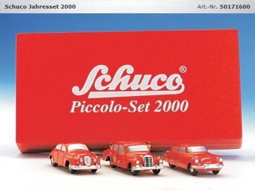Jahres 2000 jahre schuco piccolo hat 01716 jaguar, mercedes, citroen