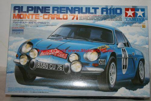 Tamiya 24278 1//24 Alpine Renault A110 Monte-Carlo 1971