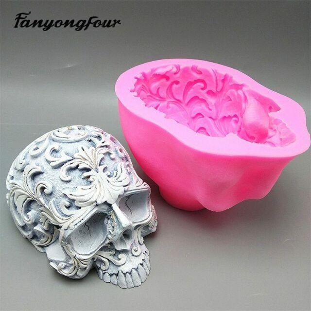 3D Make Up Set Xmas Chocolate Halloween Mould Fondant Cake Decor Silicone Mold