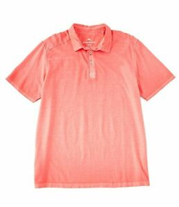 Tommy-Bahama-Men-s-SZ-XL-Cirrus-Coast-Polo-Shirt-Mandalay-Red-MSRP-100