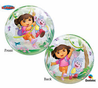Dora The Explorer 22 Qualatex Bubble Balloons Birthday Party Supplies