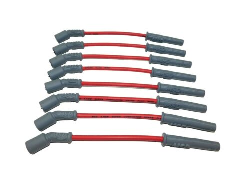 MSD Spark Plug Wires Spiral Core 8.5mm Red Boots Chevy GMC 4.8 //5.3 //6.0L 32829