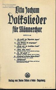 Volkslieder-fuer-Maennerchor-Wohlauf-in-Gottes-schoene-Welt