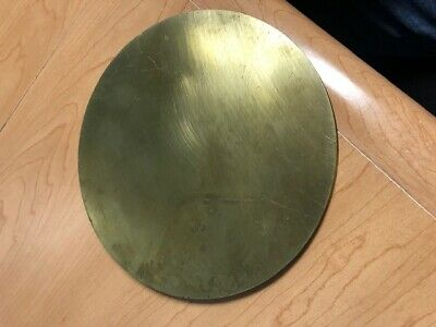 ".25/"" 1//4/"" Brass 260 Plate Round Circle Disc 2/"" Diameter"