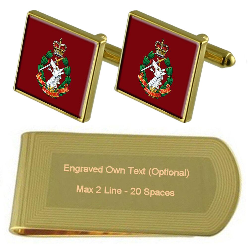 Esercito Esercito Esercito Reale Dentale Corpo inciso Money Clip Box Set c747de