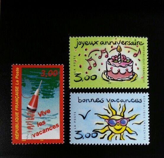 1999 France Announcements Set of 3 Scott 2721-23 Mint F