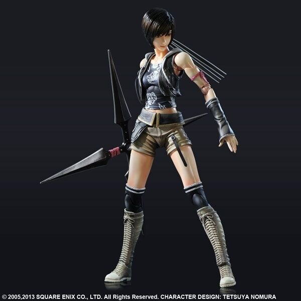 FIGURINE FINAL FANTASY VII 7 PLAY ARTS ADVENT YUFFIE KISARAGI ENFANTS SQUARE
