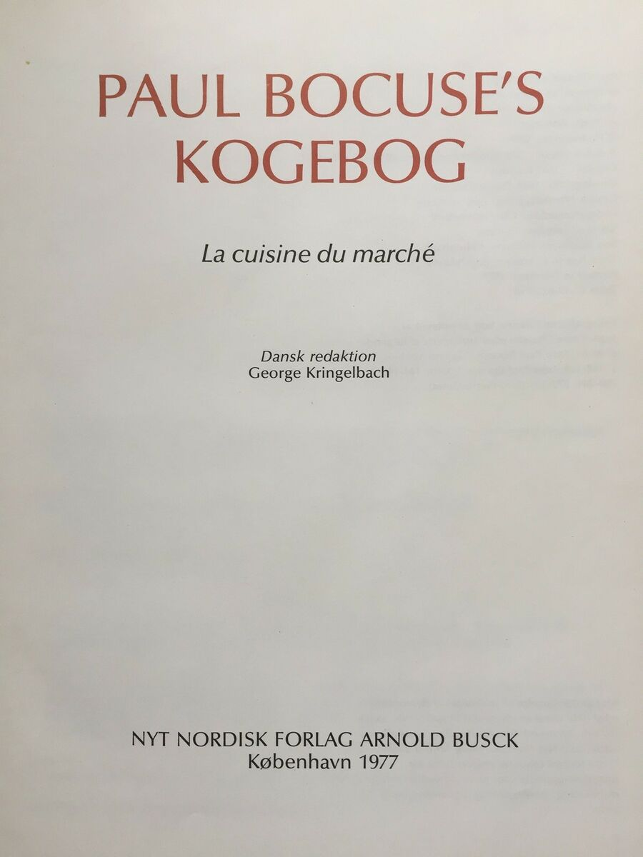 paul bocuse kogebog