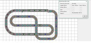 Nouveau circuit Scalextric Oferton de 16 mètres (ouvert) 1/32