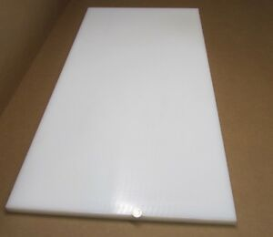 "Natural Polypropylene Sheet 1//16/"" Thick x 24/"" x 48/"" 2 Units"