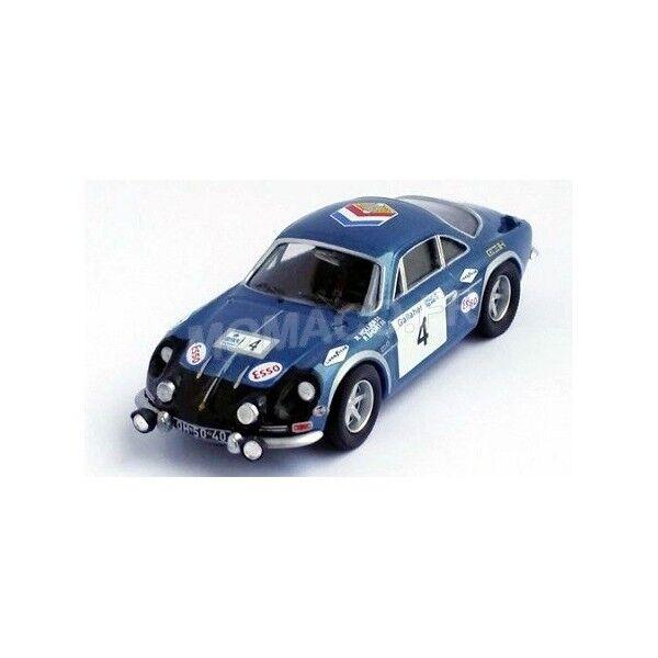 Renault alpine a110 4  hollier courte circuit of ireland 1971 trofeu 1 43  sortie de vente pas cher en ligne