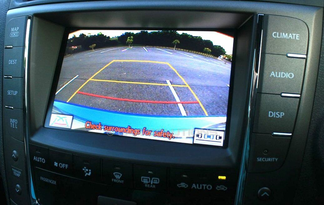 Lexus GS430 MFD GEN5 Multi-Displays Rear View Camera Connection Cable to Toyota