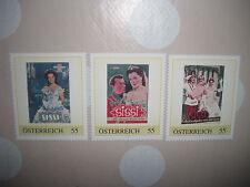 Briefmarken Sissi - Romy Schneider - Sissi-Filme für Sammler