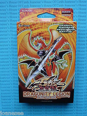 Yu-gi-oh Dragunity Legion Structure Deck English 1st Edition NEW BNIB ON SALE