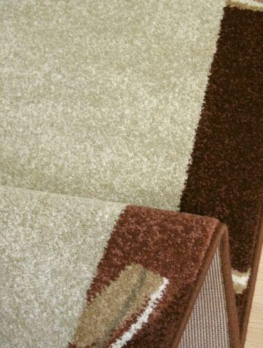 """Teppich Läufer der Extraklasse /""""INFI 1112b beige braun/"""" 67 cm breit gewebt NEU"""