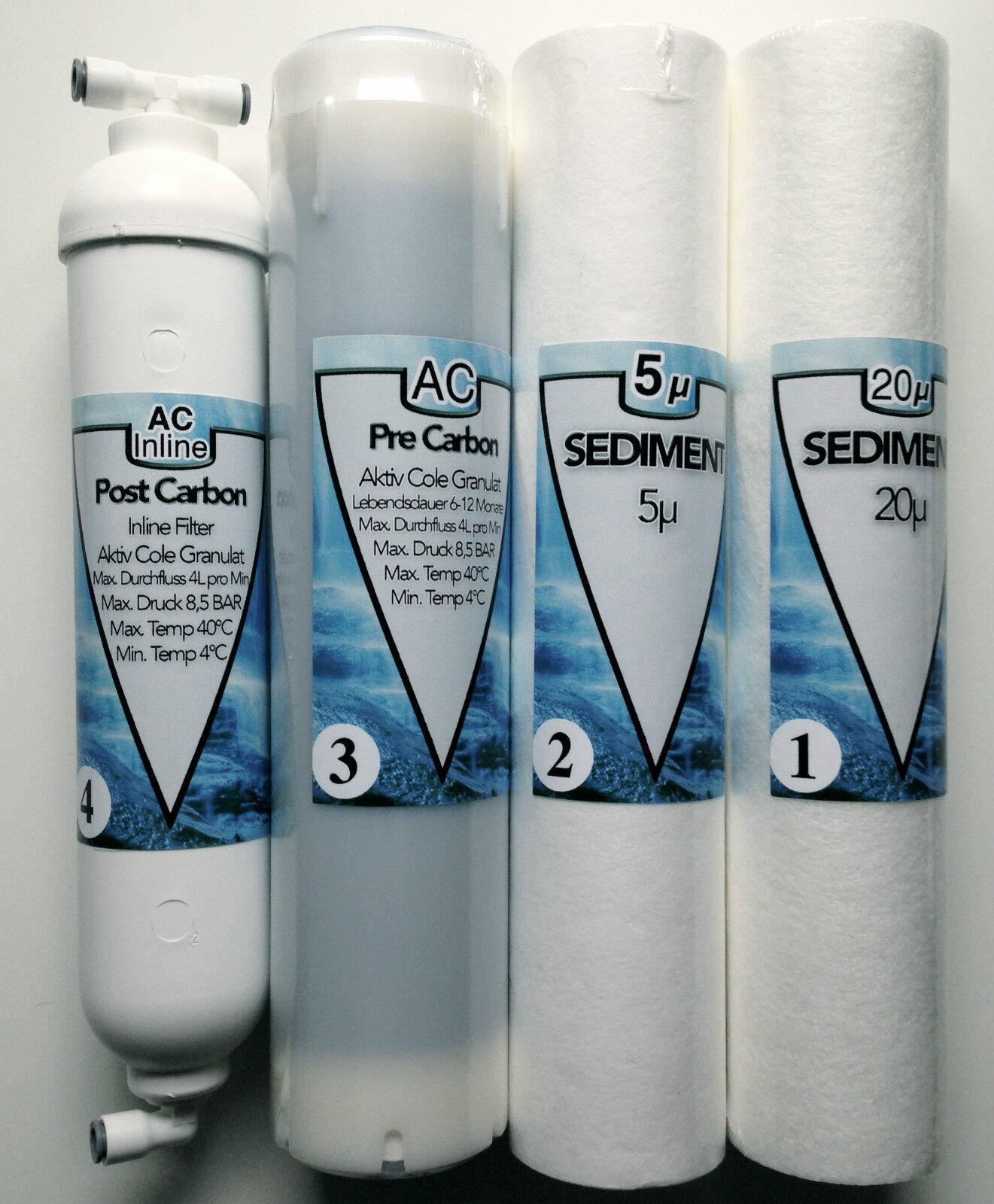 Wasser Filter passt für Kuna Cleone Wasserfilter Osmose Cleone 2