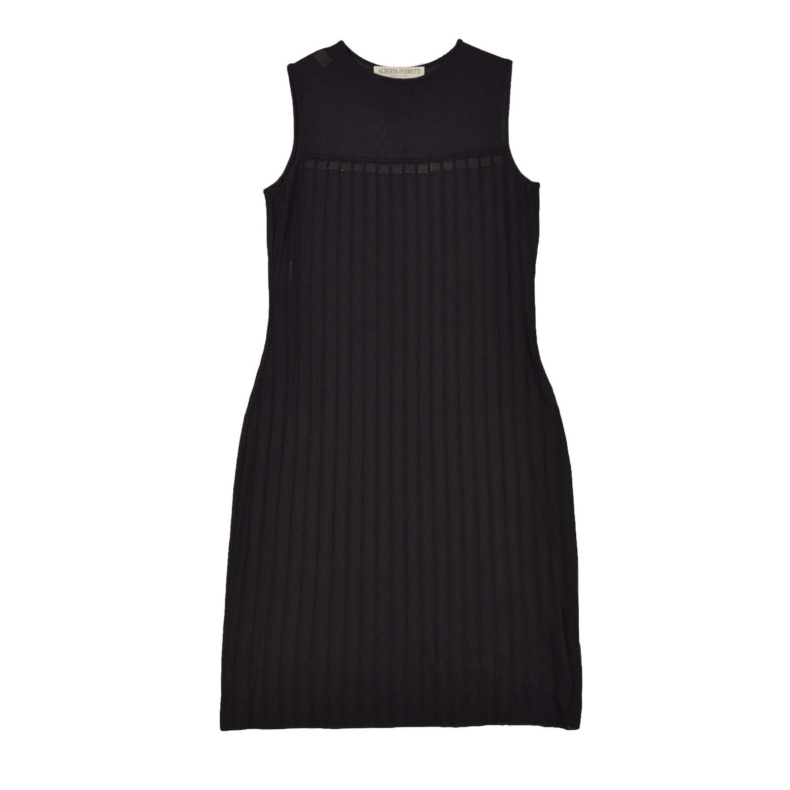 ALBERTA FERRETTI Damen Kleid M 38 38 38 Sommerkleid Viskose grün Rock Dress Skirt wNEU a8e870