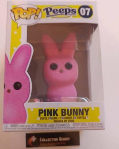 Candy 07 Peeps Pink Bunny Pop Vinyl Figure FU37101 Funko Pop