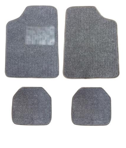 Set di tappetini neri nuovi AUTO TAPPETO TAPPETINI 4tlg.tr per Alfa Romeo Citroen FIAT