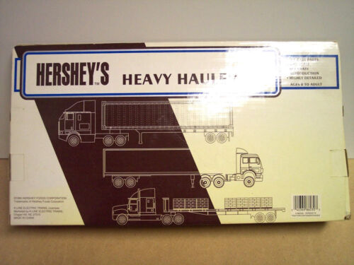 Hershey/'s Peanut Butter Cup Tractor Trailer 1//48 Scale Die Cast Special Offer