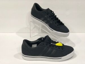 81ae1e71665e Image is loading Adidas-NEO-Cloudfoam-Super-Daily-Black-Sneaker-Lifestyle-