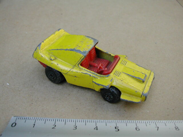 WOOSH N PUSH 1972   MATCHBOX VEHICULE MINIATURE  M89