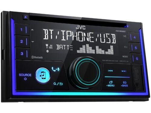 1T JVC KWR930BT Radio 2 DIN für VW Touran ab 2003 schwarz
