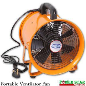 Extractor-Fan-Portable-Ventilator-Industrial-Air-Axial-Metal-Blower-Workshop