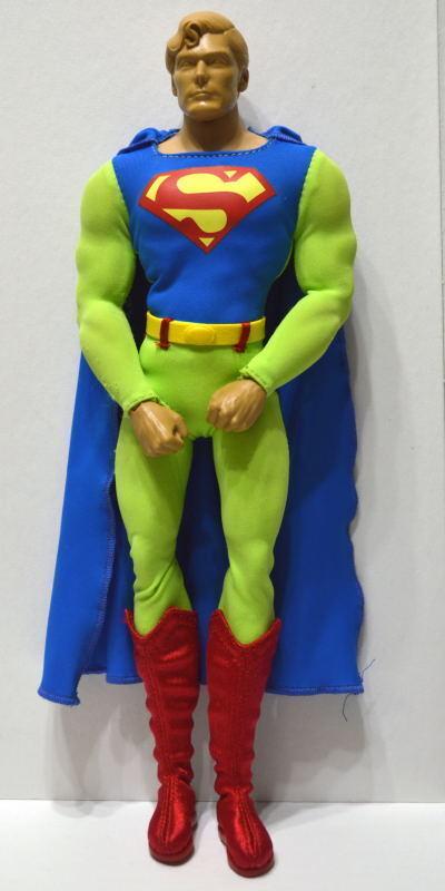 Rare SUPERMAN PredOTYPE 12  Action Figure 3 COSTUMES COSTUMES COSTUMES Mattel 2010 NEVER RELEASED 55ac33
