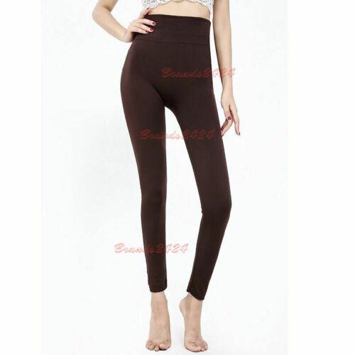 Leggings Haute Amincissante Femme Slim Control taille ventre soutien Shapewear S-XXL