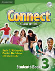 Connect 3 Student's Book with Self-study Audio CD by Jack C. Richards, Chuck Sandy, Carlos Barbisan (Mixed media product, 2009)
