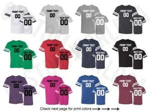 Customized-Adult-Football-Jersey-Shirts-Text-Name-Number-Team-Personalized-Tee