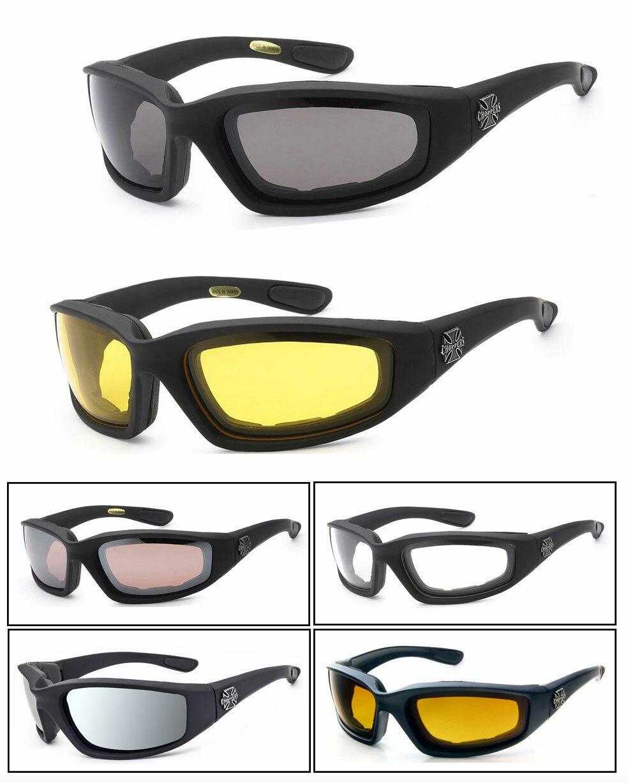 1 Oder 3 Paar Chopper Gepolstert Schaum Fahren Reiten Sonnenbrille - Wählen Sie