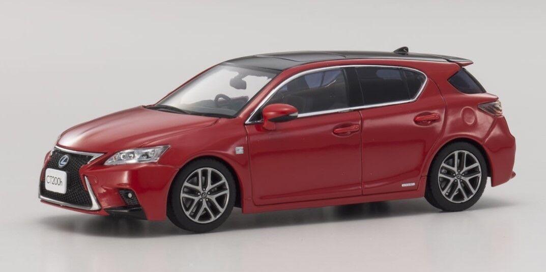 KYOSHO KS03656R2 1 43 Lexus CT200h F SPORT (M. Red)