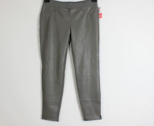 Gr in Jeggings look Teresa Rath Pantaloni grigia pelle Nuovo 48 Thomas Thom By gYSCRR