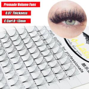 Details about SKONHED Russian Lashes 0 07 3D~6D Premade Volume Lash Fans  Eyelash Extensions