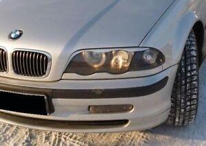 """BMW 3er E46 98-03 - SCHEINWERFERBLENDEN """"O"""" (ABS) (grundiert) - TUNING-GT"""