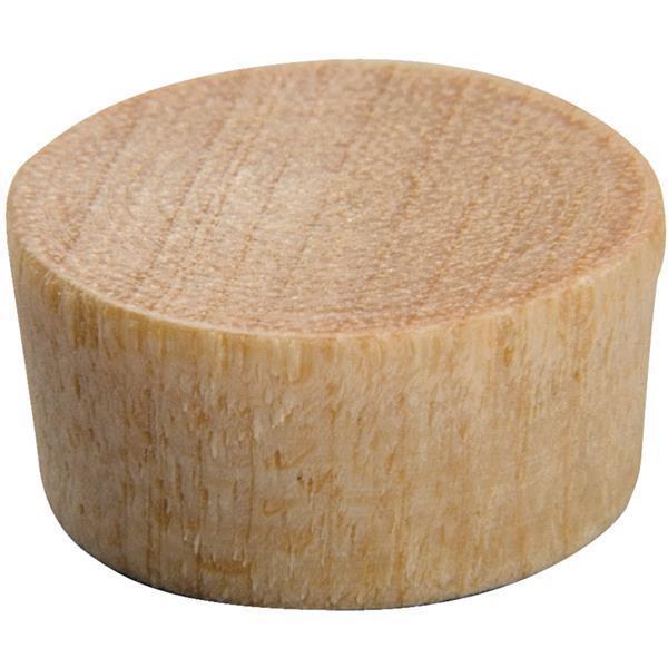 25 Pk Do it 1 4  Dia Birch Wood Hardwood Flat Head Hole Plug 18 Pk 8300.25DI