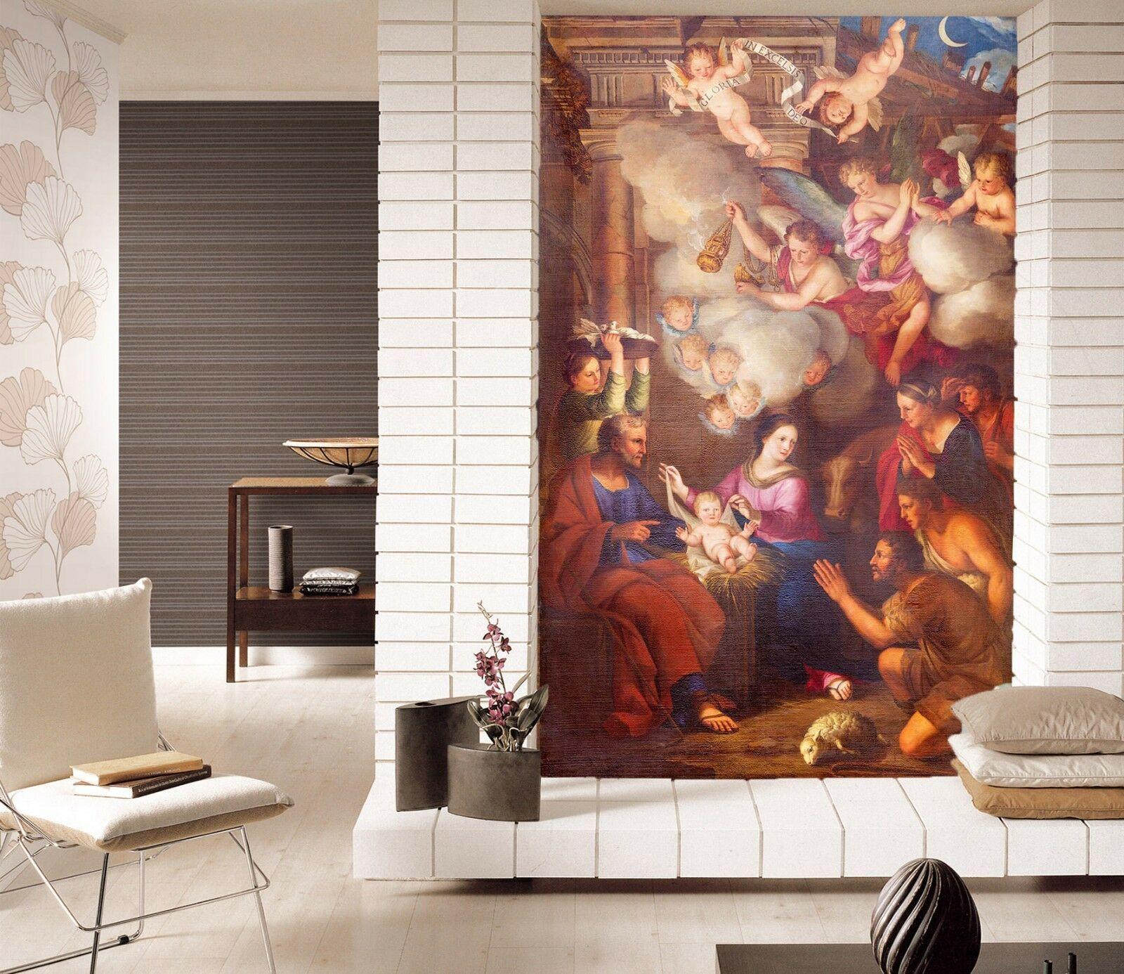 3D Human Oil Painting 4 Wall Paper Wall Print Decal Wall Deco Indoor wall Mural