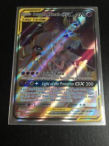 Solgaleo /& Lunala GX Full Art 216//236 Cosmic Eclipse PTCGO Online Digital Card