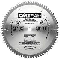 Cmt Orange Tools 10 Industrial Solid Surface Blade Teeth 72 Cmt223.072.10