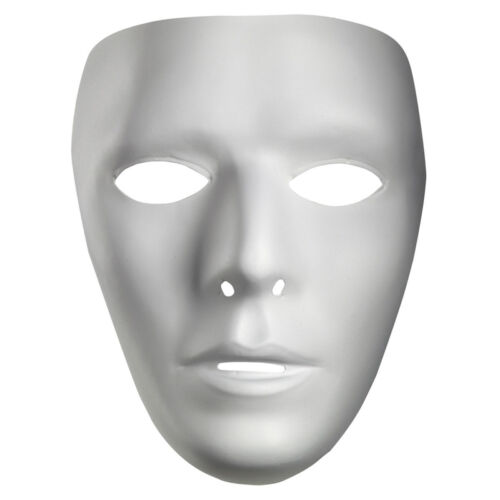 Blanc Masque blanc meilleur MTVS Dance Crew White Mime Mâle Accessoires Costume