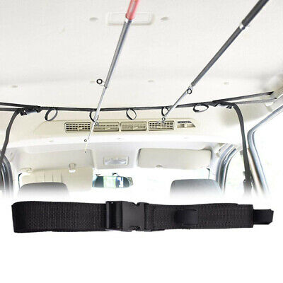 10x Angelrute Band Befestigung Bindegurt Einstellbare Pol Gürtel Nylon Wrap Tool
